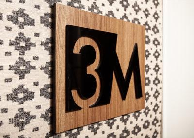 3M and wallpaper at 2400 Hudson Apartment Rentals