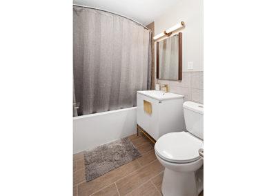 Bathroom in 1-bedroom apartment for rent in Fort Lee, NJ 2400 Hudson